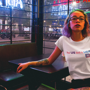 Back In The USA Tee
